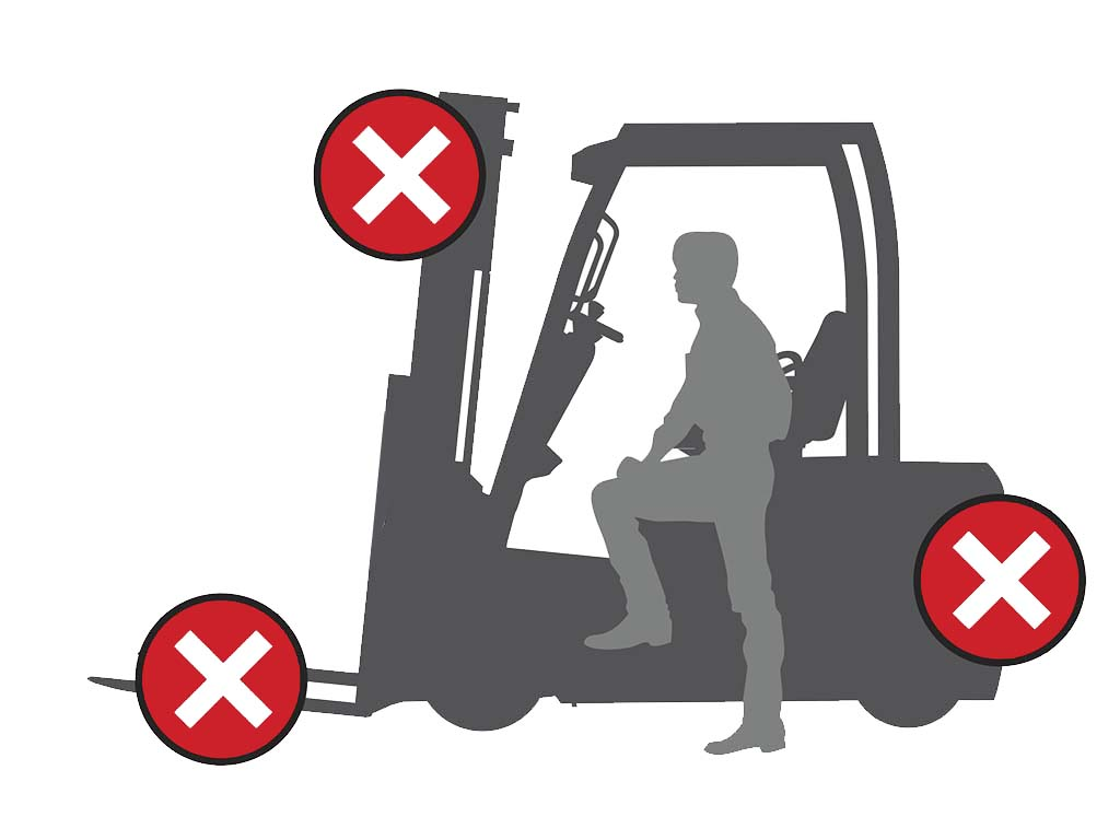 Mitsubishi FD70N1 Series TREXIA ES - Popular feature #1: Integrated Presence System (IPS2) - Increases safety by isolating hydraulic and drive functions when operator not present for 2 seconds or longer. PIN-access as standard prevents misuse by unauthorised operators. -  Diesel Counterbalance - Mitsubishi Forklift Trucks - Mitsubishi Forklift Trucks