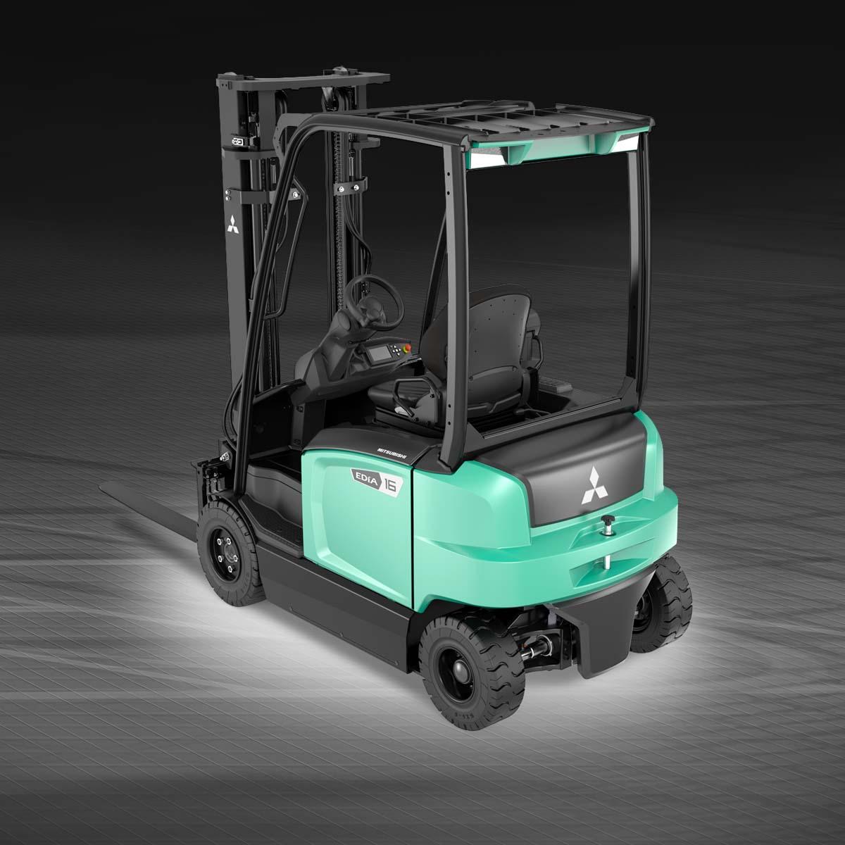 Four Way Side Loader Forklift Mitsubishi Rbm2025k Series: 4-wheel Electric Forklifts